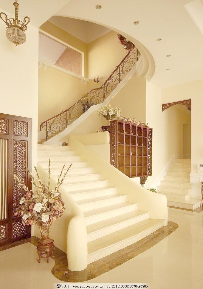 欧式楼梯图片免费下载