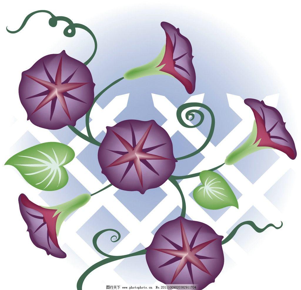 底纹花卉 花卉 花朵 鲜花 卡通背景 漂亮 矢量素材 矢量背景 底纹背景