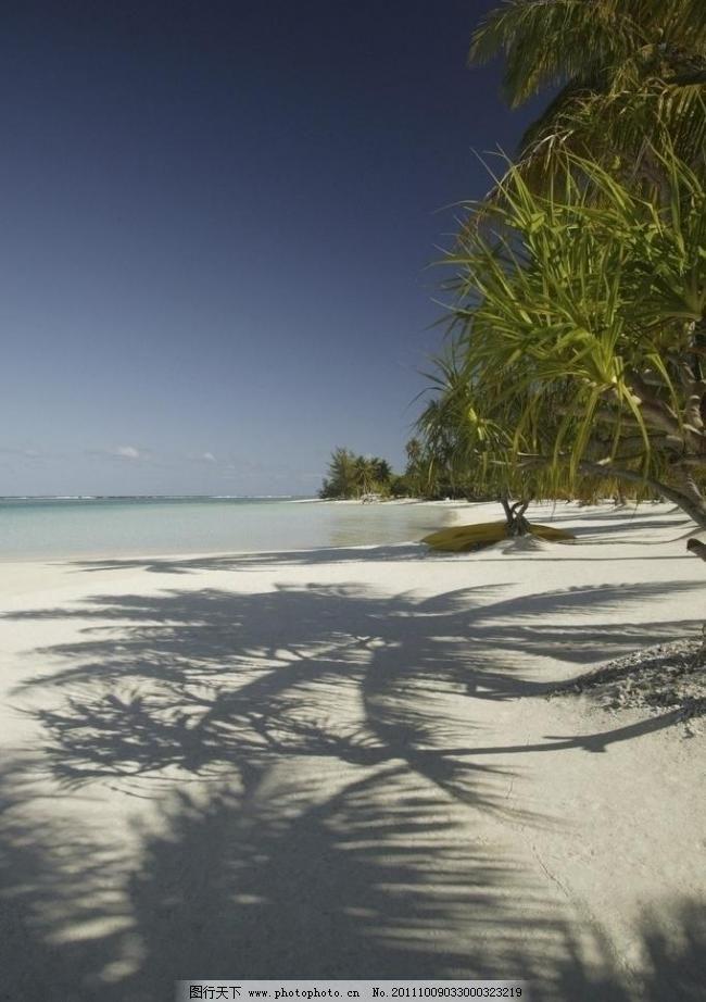 蓝天 沙滩 边风景 大海 沙滩 海滩 小岛 岛屿 蓝天 白云 蓝色大海