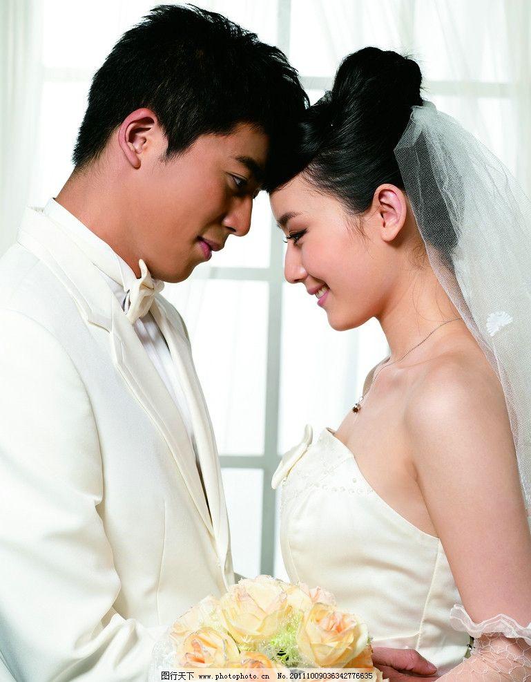 宁丹琳老公结婚照片_婚纱 结婚照片 钻石模特宣传 婚纱照 男人 女人 人物摄影 人物图库