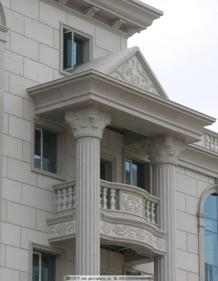 别墅门楼图片