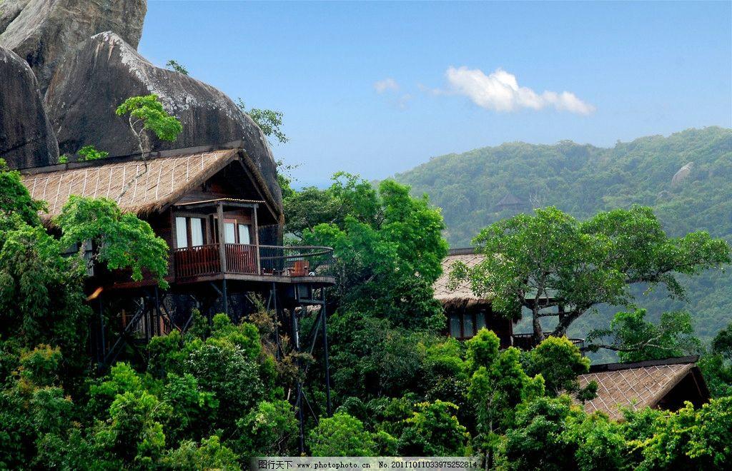 鸟巢酒店 海南 旅游 三亚 鸟巢度假村 亚龙湾 天堂森林公园 山上酒店