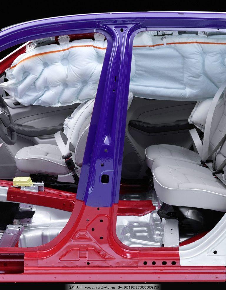 奔驰汽车结构特写 结构 架构 特写 座椅 零件 拆解 安全气囊 梅赛德斯