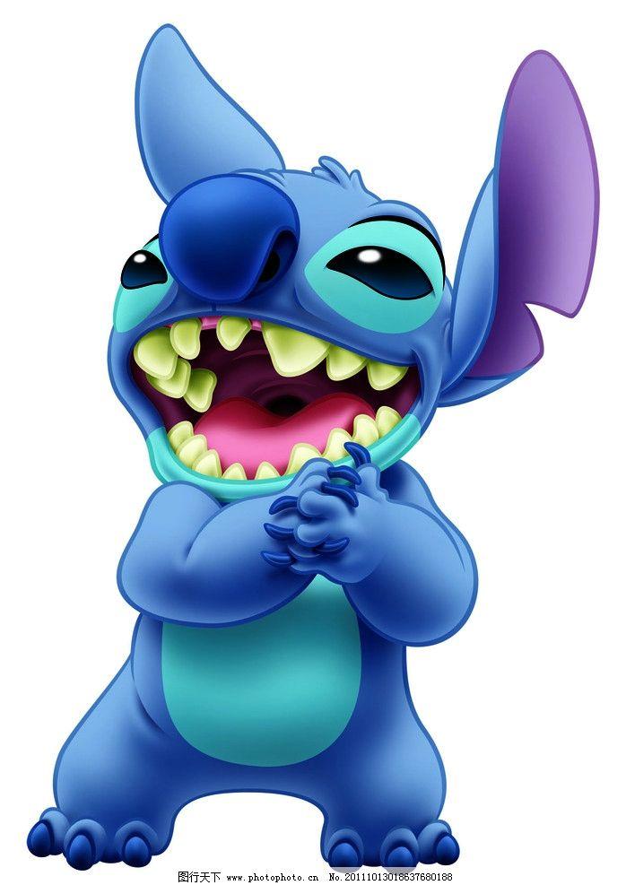 史迪仔 动漫 蓝色动画人物 动漫动画