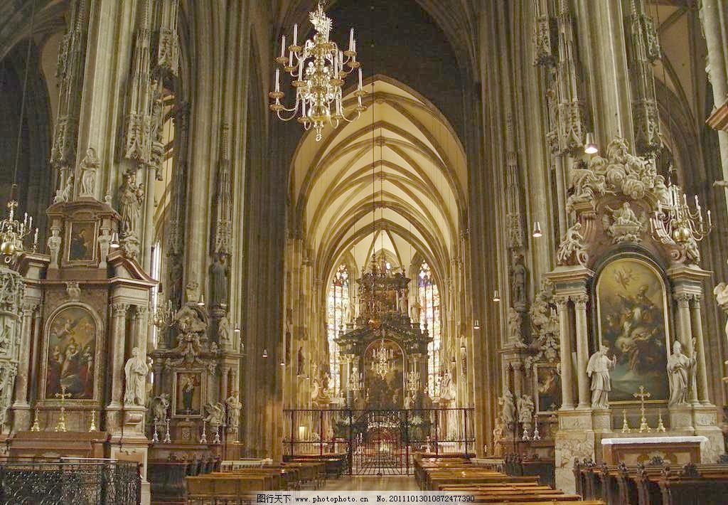 欧式大堂 欧式建筑 欧式大厅 建筑摄影 古典建筑 教堂 礼堂 背景 新