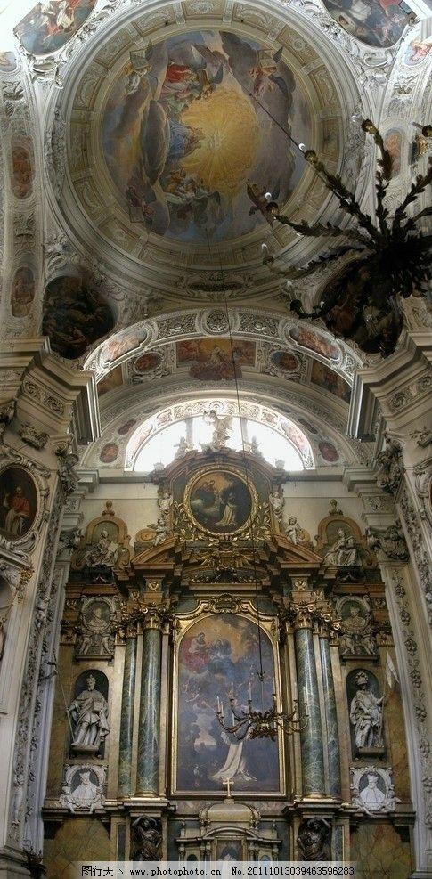 高清欧式建筑素材图片