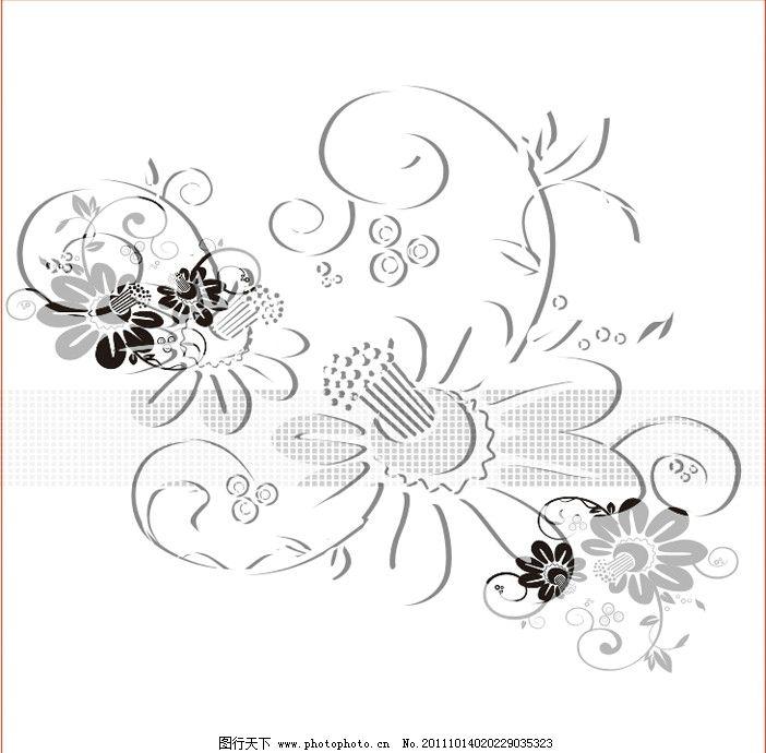 雕刻花 花藤 雕刻花纹 移门 强化玻璃 底纹背景 底纹边框 矢量 cdr