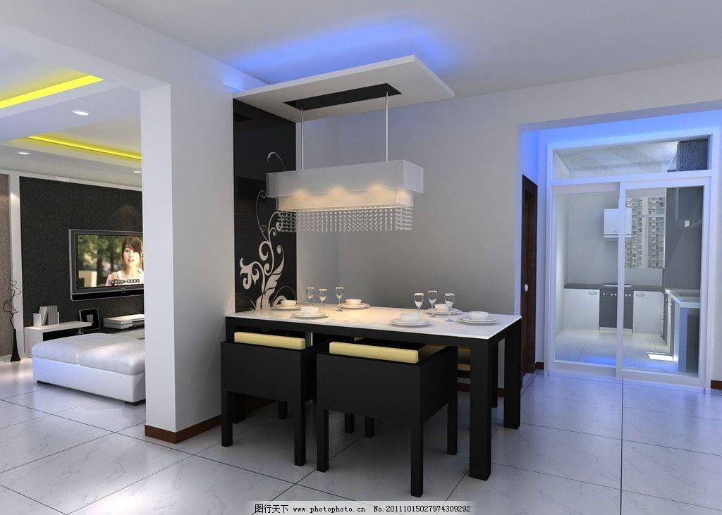 客厅效果图 室内效果图 室内设计 家装 椅子 桌子 餐厅      电视背景