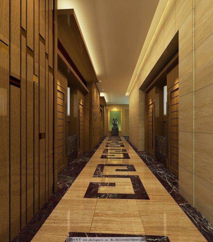 酒店走廊 酒店過道 走廊 酒店效果圖 室內設計 酒店設計 室內裝修效果