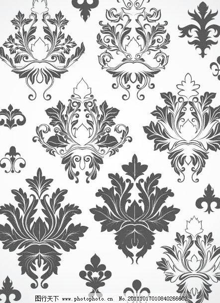eps 边框 传统 底纹 底纹边框 对花 古典 花边 花纹 花纹花边 欧式