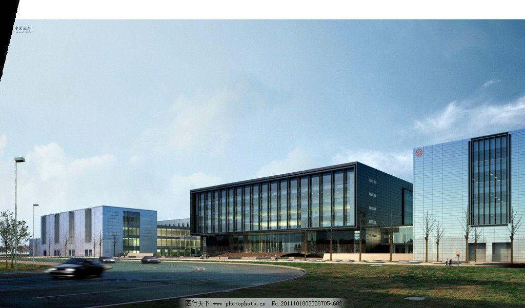 景观效果图 景观设计 3d效果图 城市景观 景观设计效果图 商业建筑