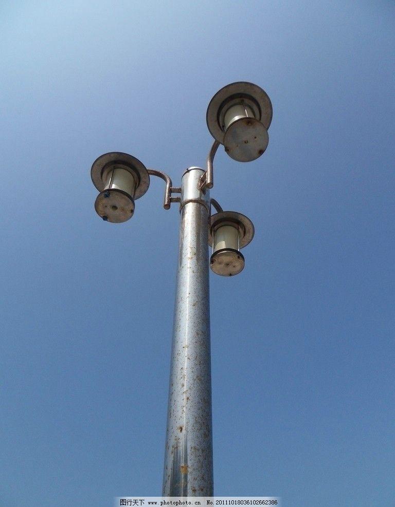 路灯 欧式路灯 老式路灯 建筑设施 建筑摄影 建筑园林 进口路灯