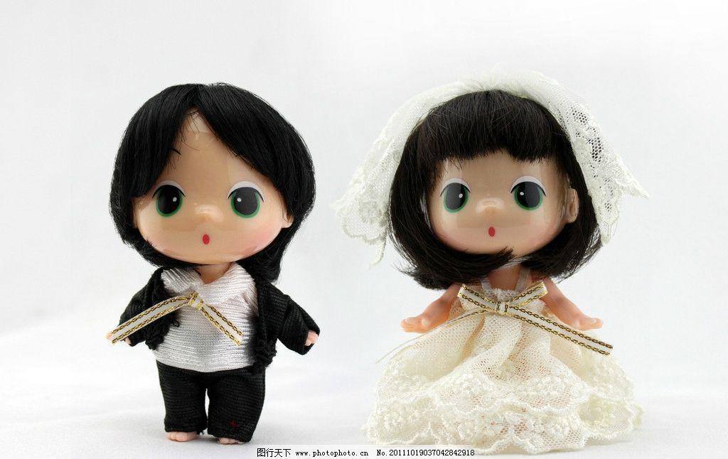 婚庆娃娃 女娃娃 男娃娃 婚庆 高清 玩偶 喜庆用品 婚庆用品 卡通娃娃