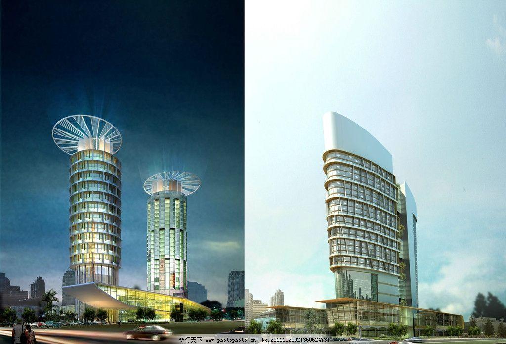 摩天大楼模型