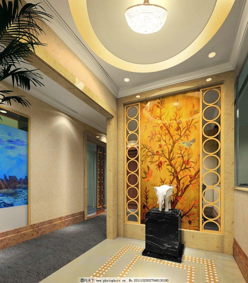 室内装修 玄关 门口 室内设计 环境设计 设计 72dpi jpg