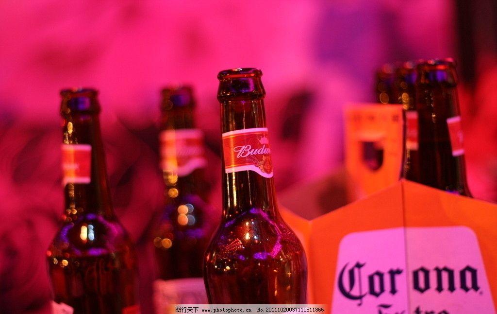 酒吧酒瓶特写酒瓶酒酒吧酒水啤酒饮料娱乐休闲生活百科摄影