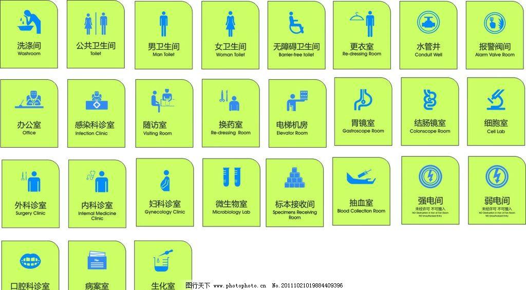 医院标识标牌系统有哪些牌子图片