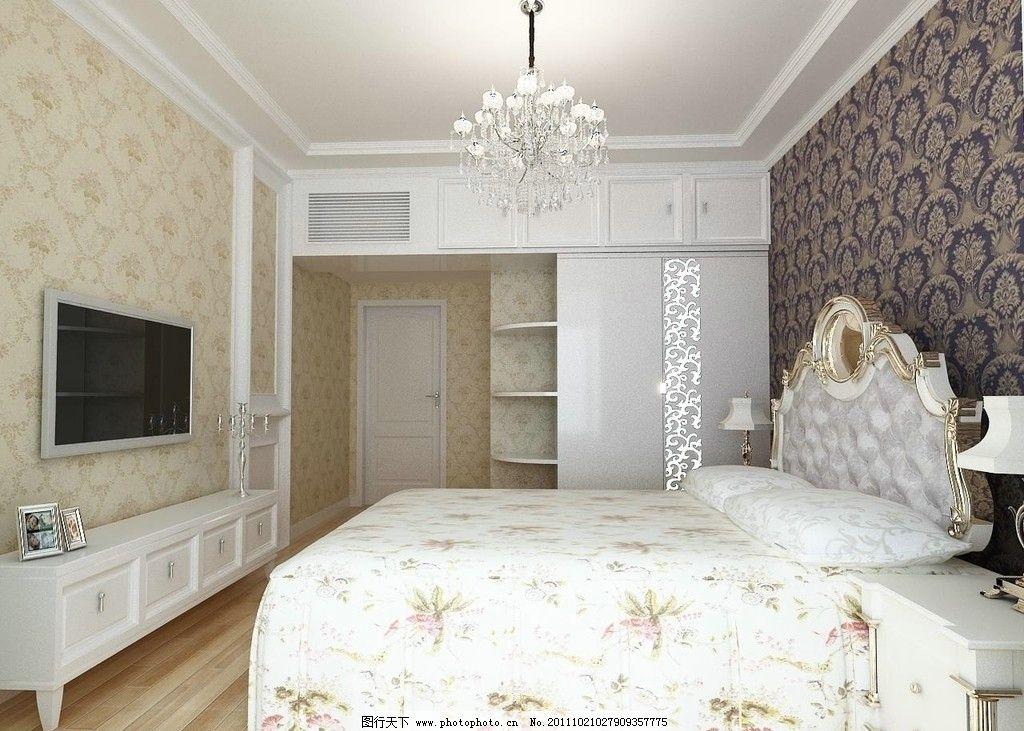 欧式卧室 欧式      温馨图片