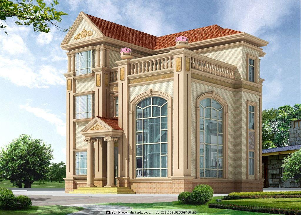 别墅 房子 高楼 建筑设计 环境设计 设计 72dpi jpg