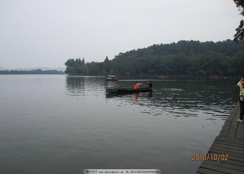 杭州西湖 西湖 杭州 山水风景 自然景观 摄影 180dpi jpg