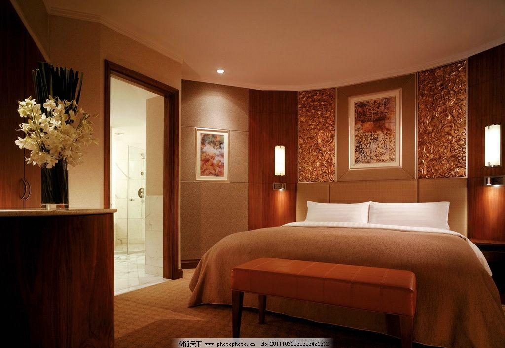 国贸酒店 酒店 室内设计 房间      大床      spa 吊灯 装饰 台灯