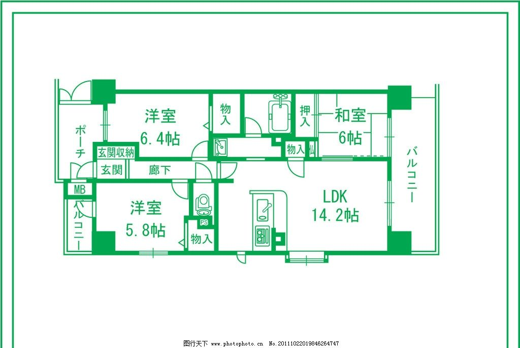 设计房屋平面图图片