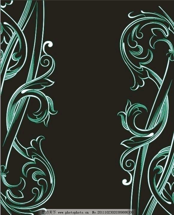 欧式花纹 边框 欧式黑白花纹 欧式复古花纹背景 复古花纹 欧式古典