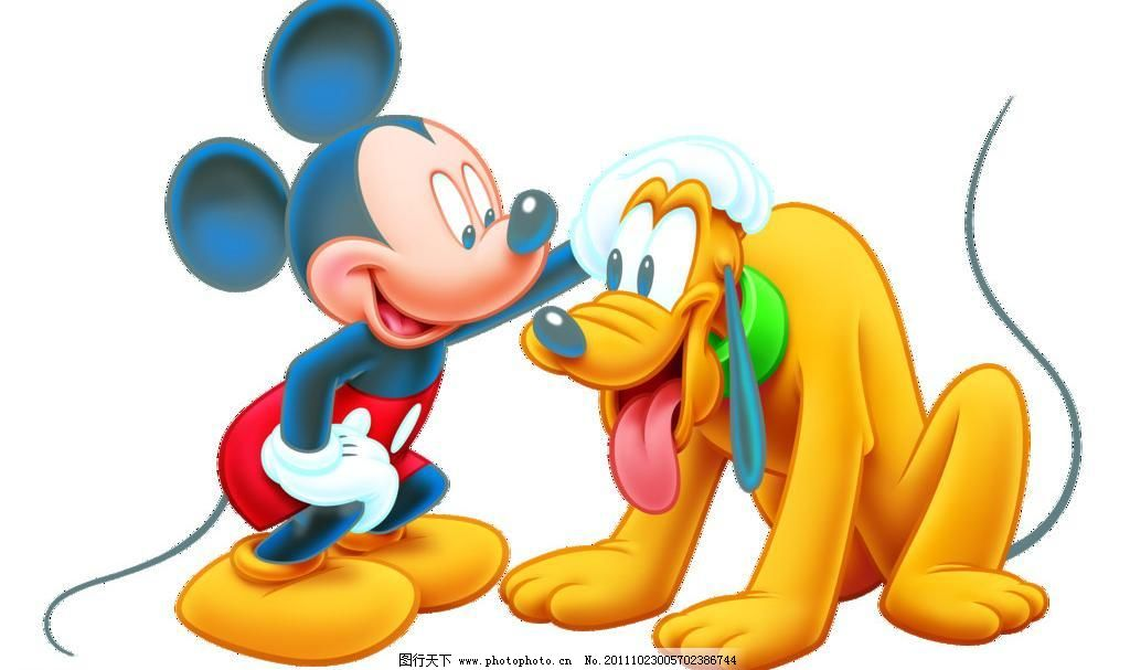 psd分层素材 迪士尼 粉色 高跟鞋 蝴蝶结 卡通 可爱 迪士尼米尼 米奇