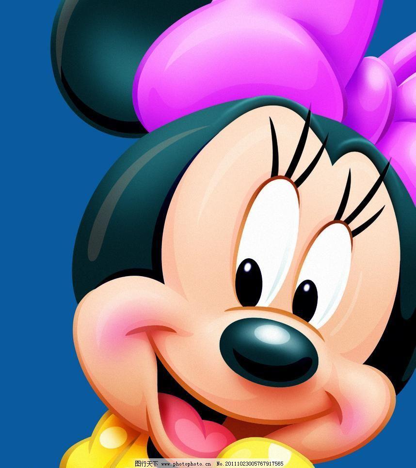 迪士尼米尼 米奇 粉色 高跟鞋 蝴蝶结 卡通 可爱 米奇素材下载