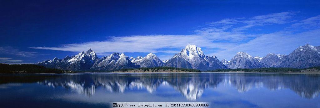 冰山 双屏桌面 蓝天白云 海洋 蓝色 冰冷 深邃 宽阔 自然风景 自然