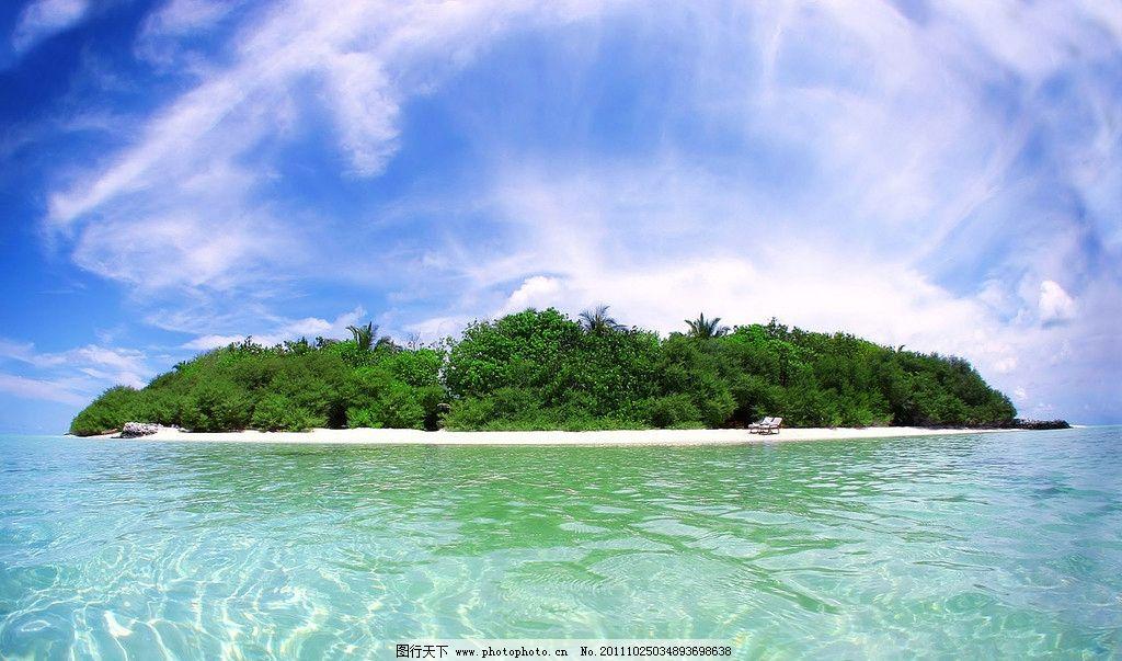 大海小岛图片