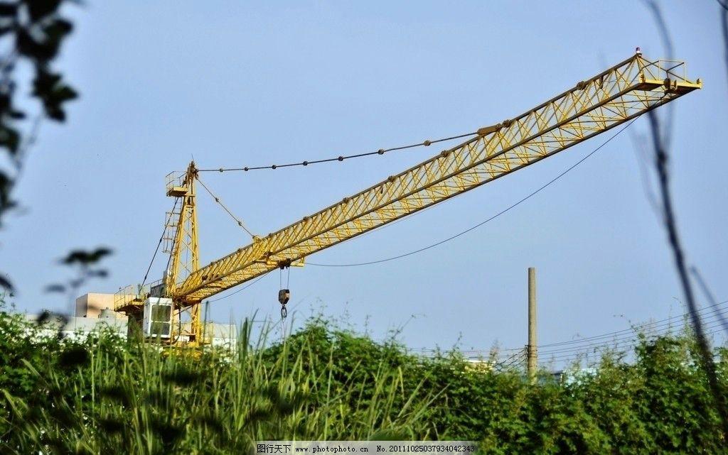 60米大型塔吊图片