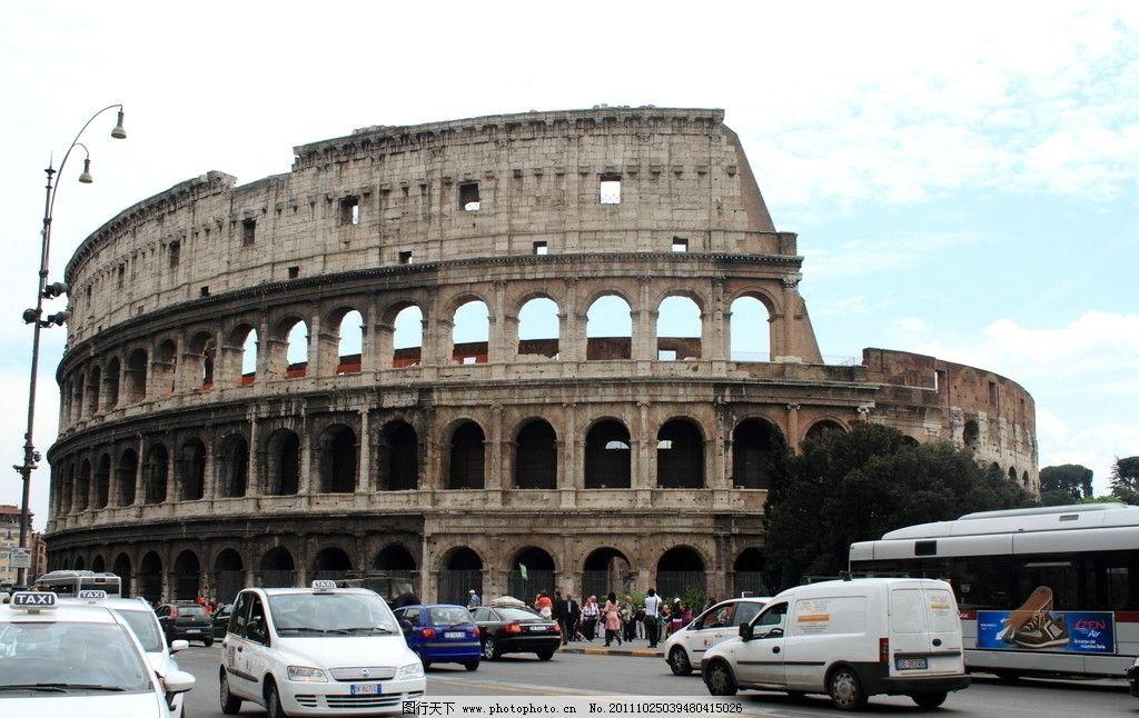 古建筑图片,圣保罗 罗马 意大利 欧式建筑 外观 古典