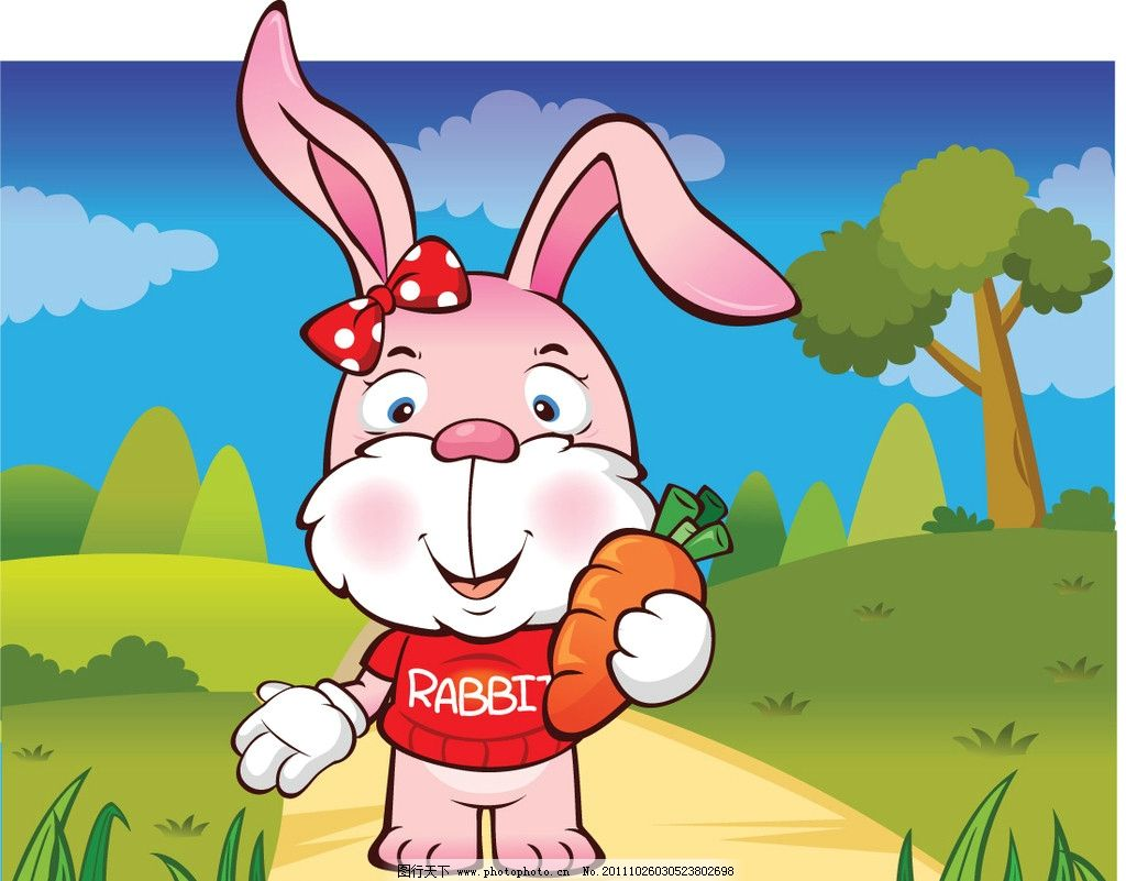 详细步骤图儿童剪兔子窗花