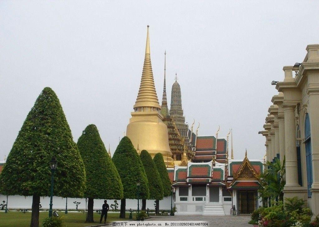 大金塔 泰国 曼谷 寺庙建筑