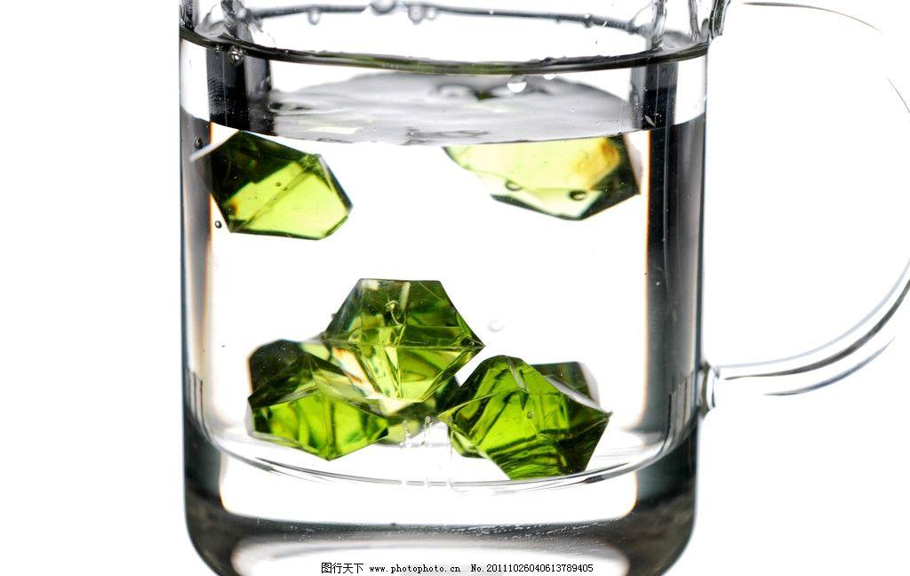 玻璃茶杯摄影图片图片