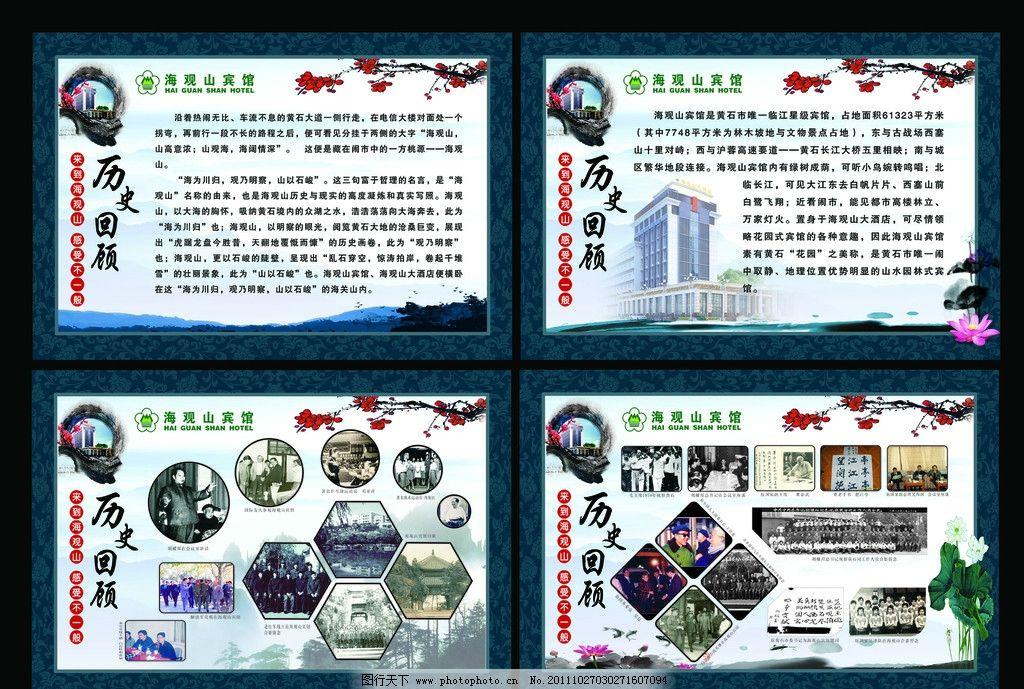 文化长廊之历史展板图片