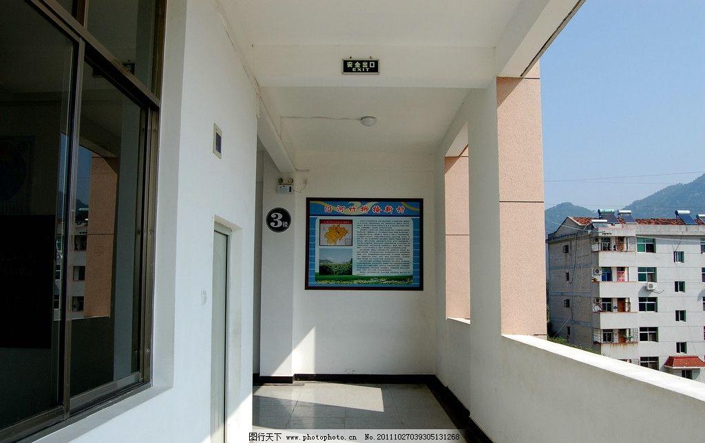 教学楼楼道布局 走廊布置 楼道文化 室内摄影 建筑园林