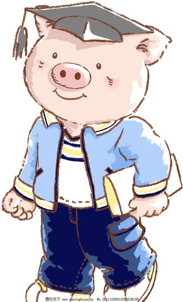 可爱的猪宝宝图片