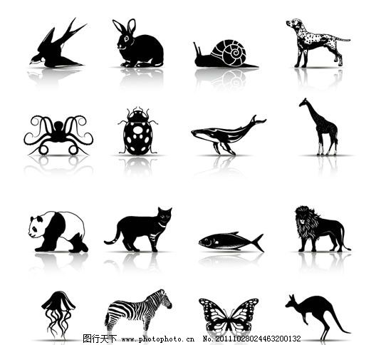 手绘动物 手绘 动物 燕子