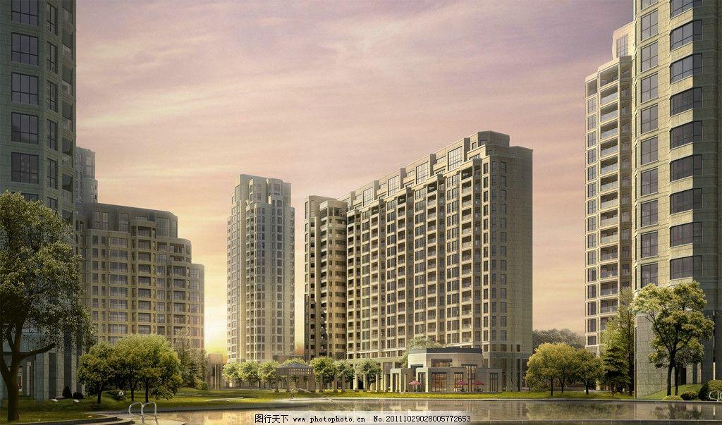 设计 高档/城市建筑效果图图片