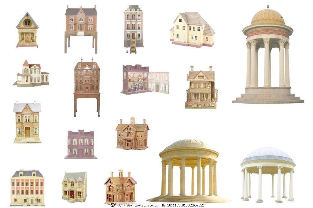 欧式建筑亭子图片