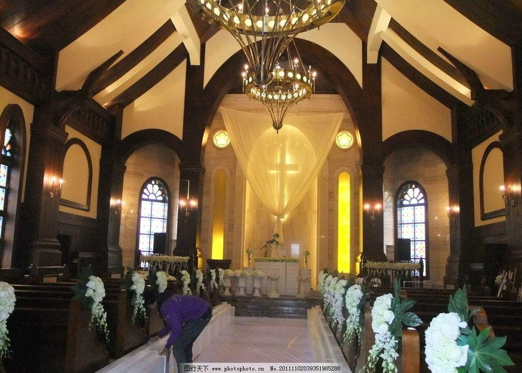 教堂 教堂摄影 欧式教堂 室内摄影 建筑园林