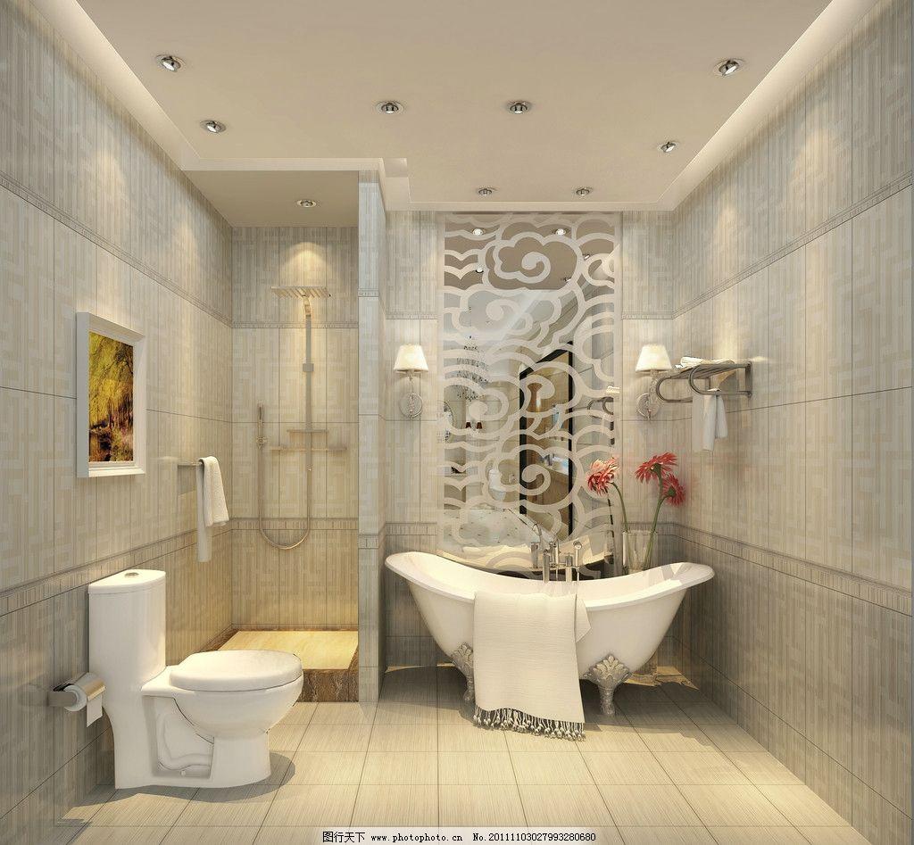 浴室图片_室内设计_环境设计