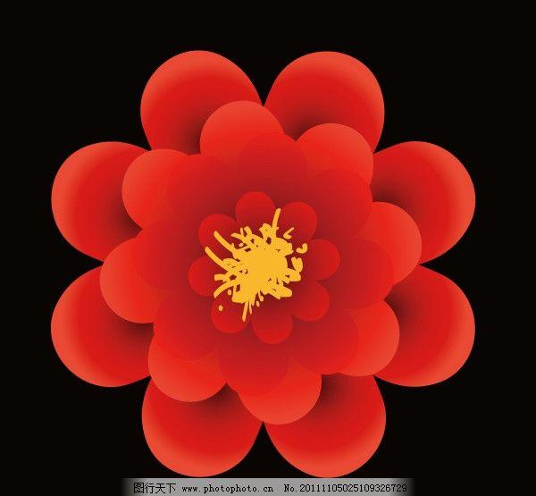 小花 矢量 装饰 花 素材 花草 生物世界 ai