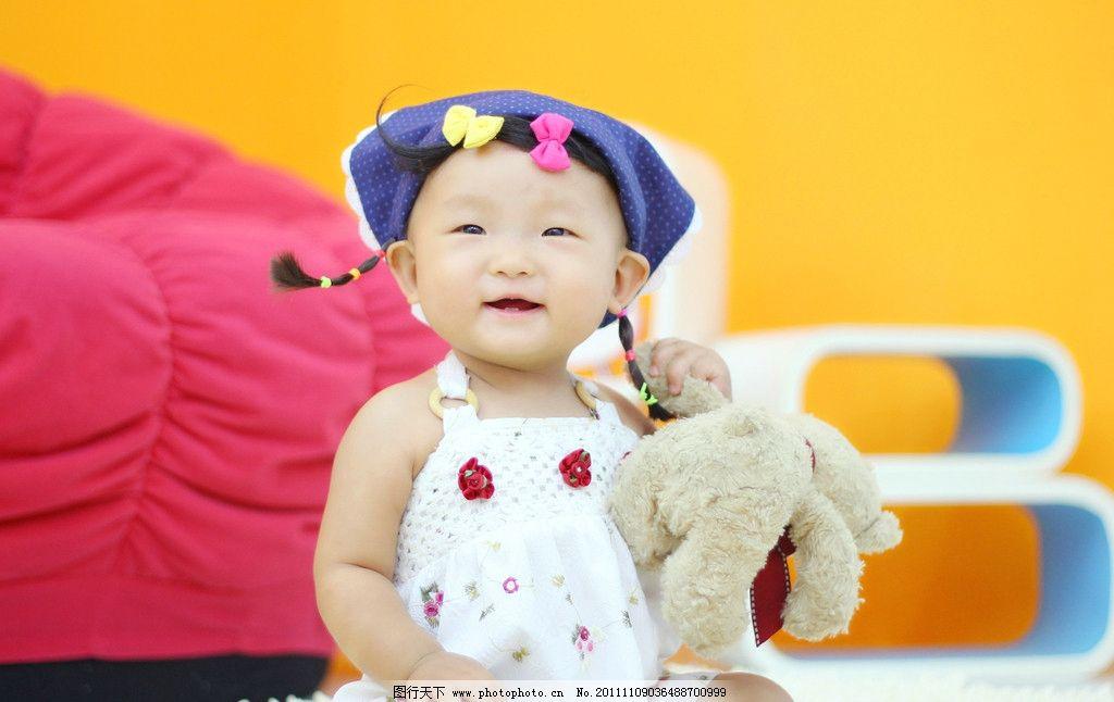 宝宝半岁照 宝宝百天照 可爱 机灵 婴儿 幼儿 女宝宝 孩子 儿童幼儿