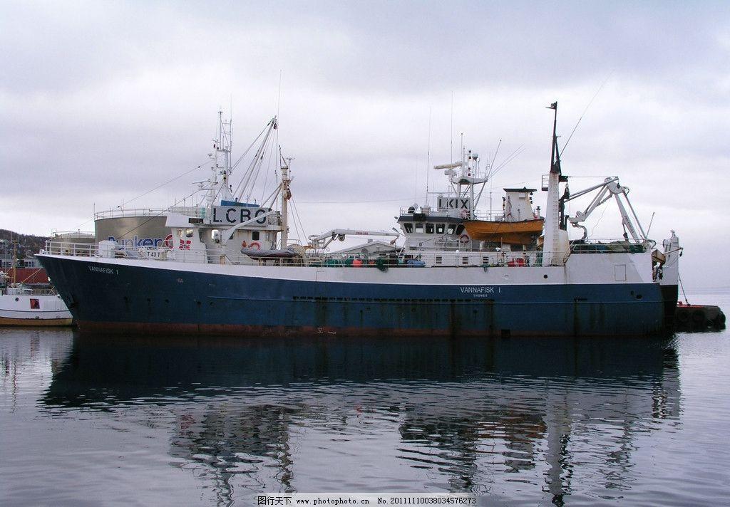 现代货船结构图
