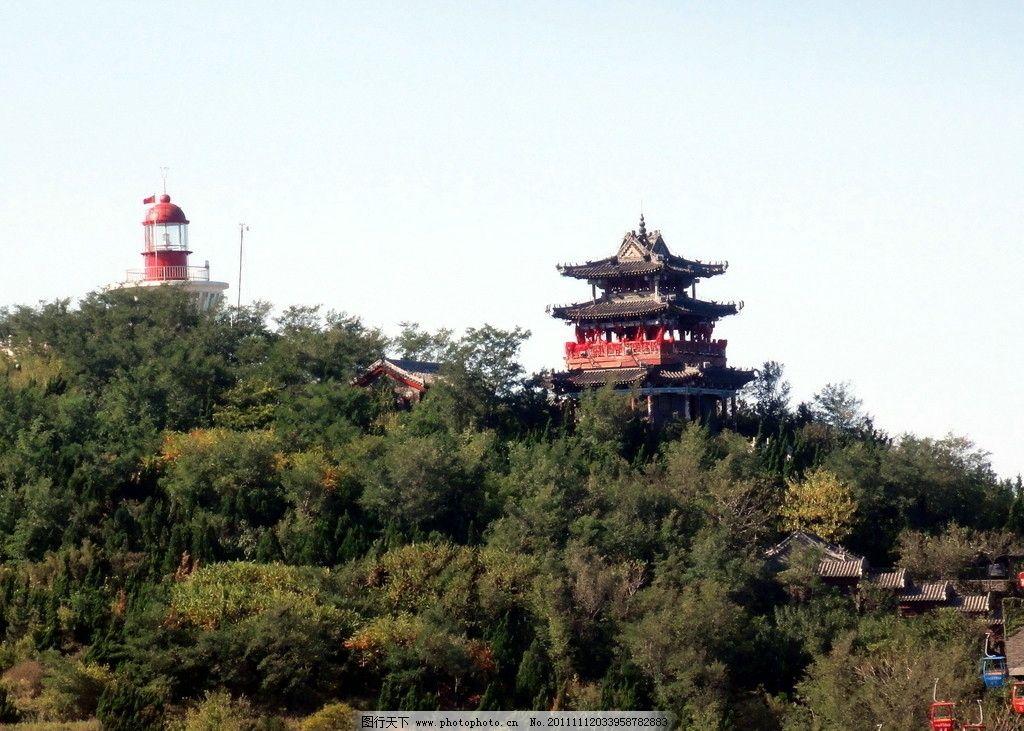 蓬莱阁风景图片
