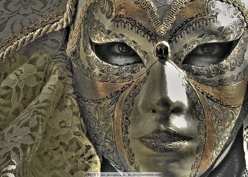传统动物橡皮泥面具