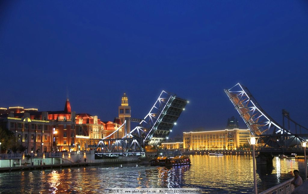 城市夜景 都市 夜色 霓虹灯 灯光 亮化工程 建筑物 欧式建筑